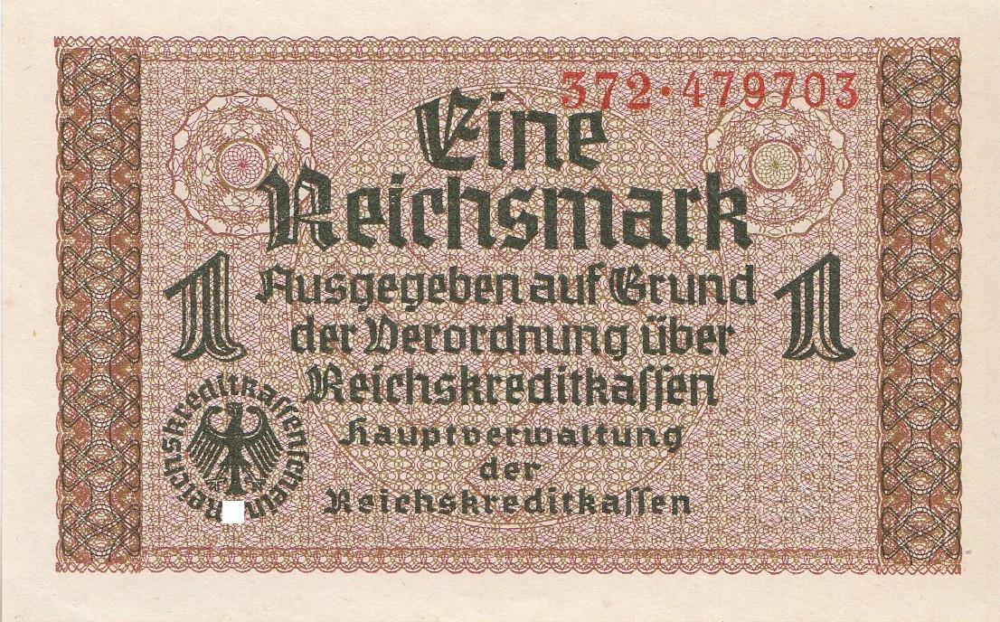 1 Reichsmark Deutsches Reich 1939 1944 551a Coins Of Germany