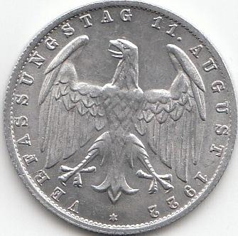 3 Mark Deutsches Reich 1922