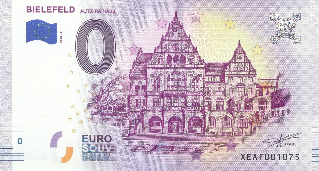 0 Euro Bielefeld Old Townhall 2018-2