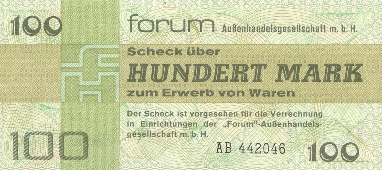 100 Mark DDR Forumscheck 1979 372a